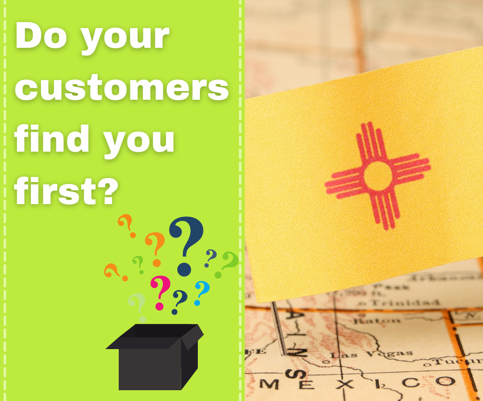 do you customers find you first in Google?